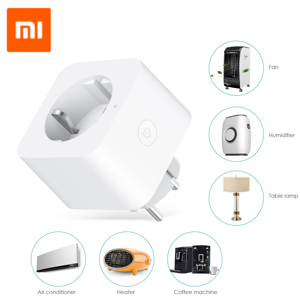 Xiaomi ZNCZ04LM Mini Home Smart WiFi Socket Compatible With Google Home For Zigbee Control Timing Function For Home