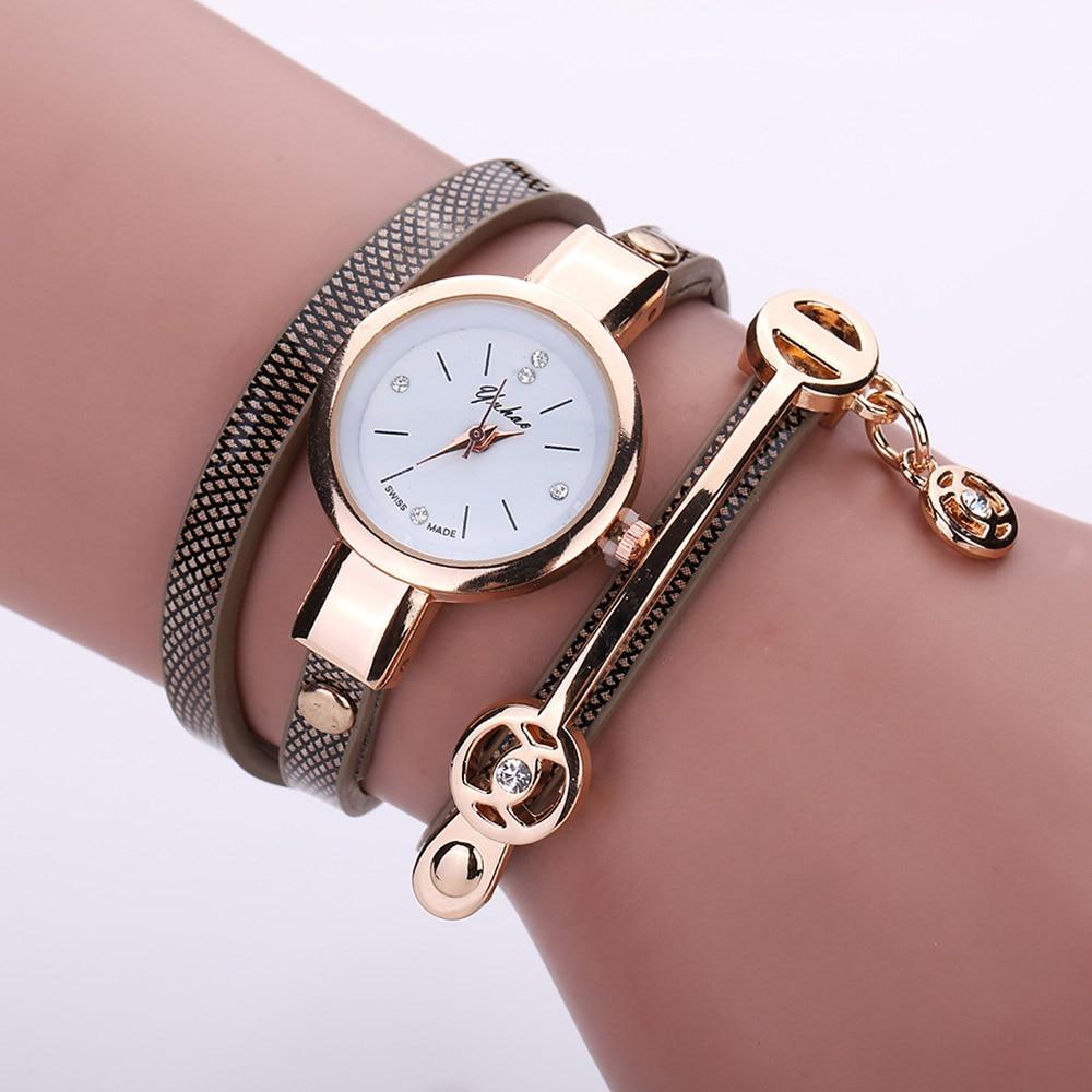 Fashion Women Bracelet Watches Ladies Dress Clock Casual Simple Analog Quartz Wristwatches Relogio Feminino Gift Drop Shipping (7)
