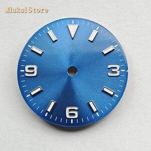 Image 4 - Bliger sterile 29mm luminous watch dial fit ETA 2824/2836,Mingzhu DG 2813/3804,Miyota 8205/8215/821A/82 series movement