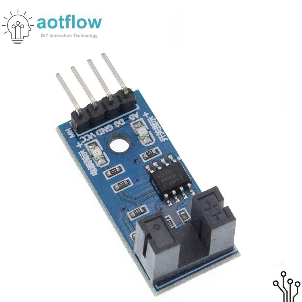 IR Infrared Slotted Optical Speed Measuring Sensor Optocoupler Module For Motor Test PIC AVR Speed module arduino esp32 stm32