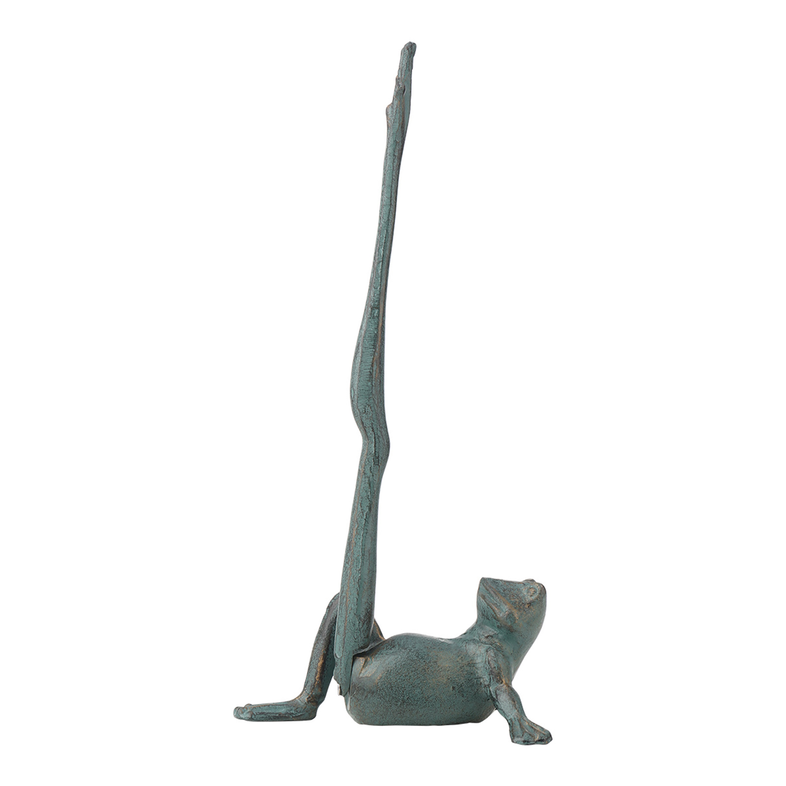 Frog Paper Towel Holder Decorative Animal Toilet Paper Roll Holder Antique Cast Iron Organizer Cast Iron Paper Towel Stand