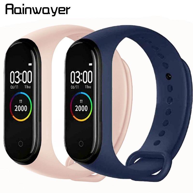 M4 Smart Wristband Smartband Waterproof Watch Blood Pressure Heart Rate Monitor Fitness Tracker M4 Smart Colorful Bracelet Band