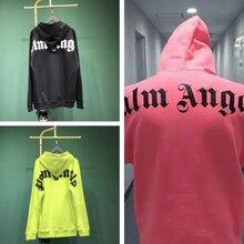 19ss Palm Angels Hondies Men Women Sweatshirts Harajuku Hip Hop Black Sweatshirt Xxxtentacion