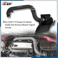 Kit de tuyau dadmission dair avec filtre, pour VW Golf V VI Passat Jetta CC Beetle Caddy Eos Scirocco Sharan Tiguan Touran, Modification de voiture