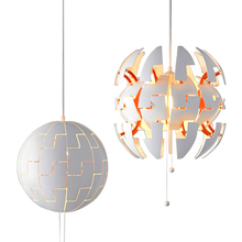 Nordic IKEA White Personality Deformation Small pendant Restaurant Bar Clothing Store Counter Bedroom Study Aisle Lamps hall creative pendant lamps za light the restaurant in front of the hotel pendant lights cafe bar small aisle entrance