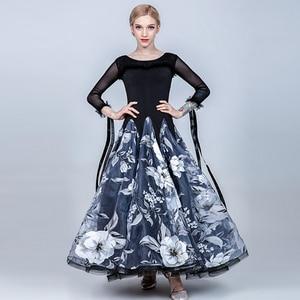 Image 2 - Vestidos de baile de salón para mujer vestido de salón de baile para niñas vestido de vals flecos vestido social estándar Ropa de baile