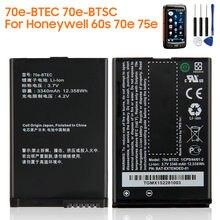 Оригинальная запасная батарея 70e btec btsc для honeywell 60s