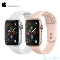 Apple Watch Series 4 LTE 44mm SportBand reloj inteligente 2 corazón Sensor ECG caído detectar actividad entrenamiento de pista para iPhone