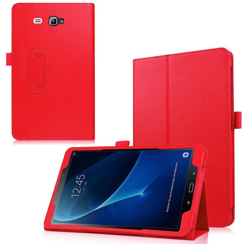 Чехол-подставка для Samsung Galaxy Tab A 6 A6 7,0 2016 T280 SM-T280 T280N T285 SM-T281 откидной Чехол из искусственной кожи для планшета-0