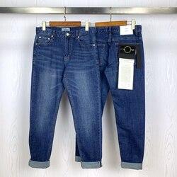 Мужские облегающие джинсы 2020ss с символикой компаса, потертые синие джинсы, брюки