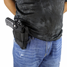 Concealed Carry Holster Magazine-Slot Pistol IWB Metal-Clip OWB with And Interchangeable