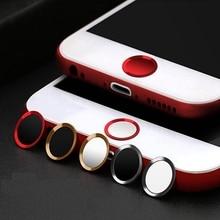 Кнопка «домой» Стикеры защита для клавиатуры клавиши для IPhone 5 S 5 SE 4 6 6s 7 Plus Поддержка разблокировка по отпечатку пальцев сенсорные клавиши ID