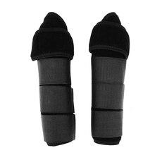 1 Pair Horse Leg Protector Boots Wraps Riding Equestrian Care Legging Brace For Horsemanship