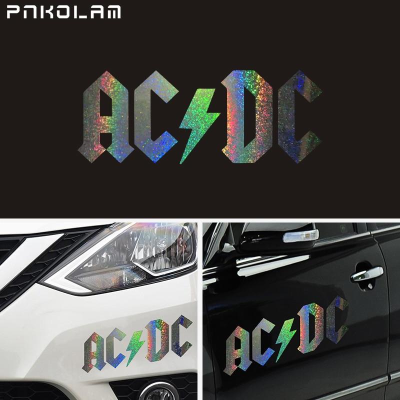 Autocollant de voiture ACDC AC DC logo Vynil S/électionner la taille X-Small 3 u-acdc6 3