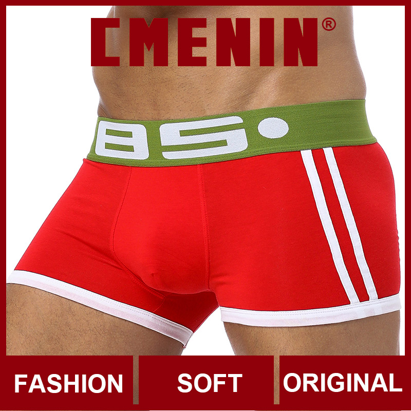 Comfortable Cotton Sexy Men Underwear Boxer Shorts Fashion Innerwear Mens Boxershorts Underware Boxers Freegun