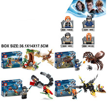2019 new legoinglys H Magic potter Cave Spider Forbidden Forest Building Block Bricks Christmas kids Gifts 4in 1