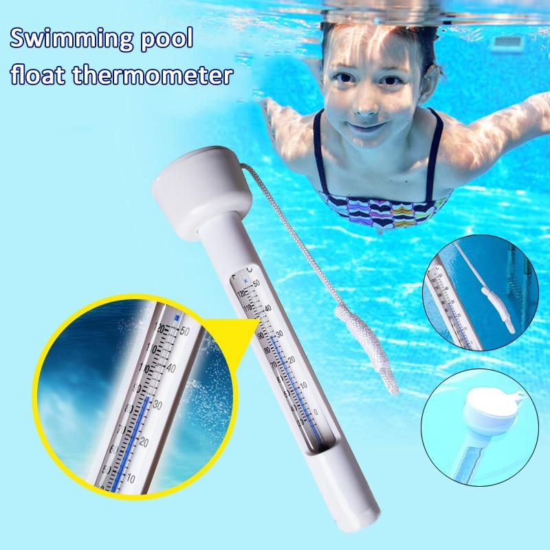 Termômetro de Água para Piscinas Banheiras de Hidromassagem Portátil Piscina Termômetro Peixes Lagoas 1 Pçs