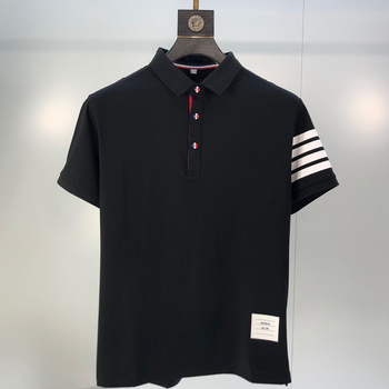 2020 Brand Men's Polo Shirt Summer Short Sleeve Plus Size Homme Clothing Casual Cotton Luxury Designer High Quality Fashion Tops