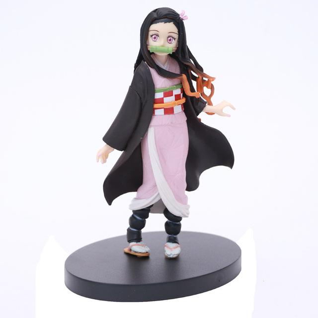 Kimetsu no yaiba Figure Tanjirou Nezuko The Dragon of Change Kimetsu no Yaiba Figurine Toys Demon Slayer Anime Figure