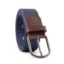 ZLD cintura elastica per uomo e donna fibbia ad ardiglione cintura in tela elasticizzata cintura di jeans di lusso cinture per uomo cintura Unisex marea
