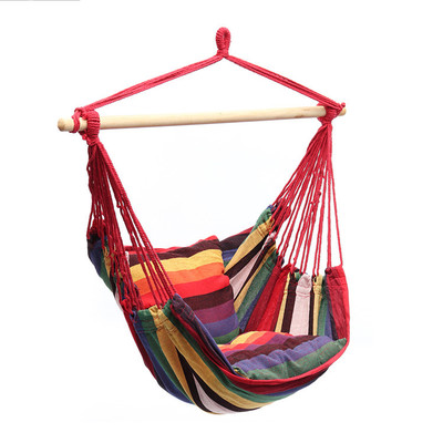 Portable Travel Camping Hanging Hammock Home Bedroom Swing Bed Lazy Chair For Garden Indoor Outdoor Hammock Swings