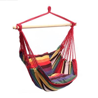 Portable Travel Camping Hanging Hammock Home Bedroom Swing Bed Lazy Chair For Garden Indoor Outdoor Hammock Swings