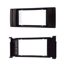 Double Din Untuk BMW X5 (E53) 5 (E39) 1995-2003 Stereo Bingkai Radio DVD Stereo CD Panel Dash Kit Trim Fasia Face Plate Bingkai(China)