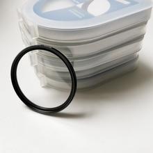 Lente protectora de filtro UV, lente ultravioleta de 40,5mm, 49mm, 52mm, 55mm, 58mm, 62mm, 67mm, 72mm, 77mm, 82mm
