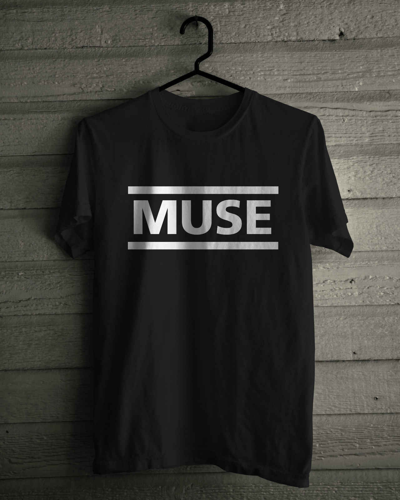 muse logo model:4 BLACK t-shirt MUSE BAND kids clothing boy girl children shirt