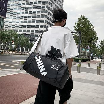 Men Women Outdoor Travel Gym Sports Shoulder Handbags Male Female Big Casual Fashion Large Cpacity Crossbody Messenger Bags 2019 - discount item  35% OFF Women's Handbags