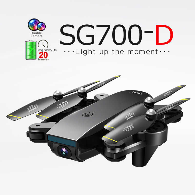 SG700D 4 Axis Helicopter Wifi Fpv Optische Flow Professionele Opvouwbare Drone 4K Dual Camera Follow Modus Vaste Hoogte Rc speelgoed Vs E68