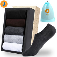 6Pairs/lot Men Cotton Socks Summer Thin Breathable Slippers High Quality No Show Boat Short EUR 39-45 With Bag