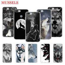 The Wolf Fierce TPU Phone Cases for Huawei Honor 8X 20 9 10 Lite 8A 10i 20i 8S V20 Y5 Y6 Y7 Y9 2019 Coque Cover Capa
