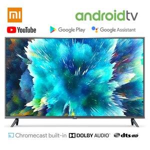 телевизоры телевизор Xiaomi smart tv 4S 43 дюйма 32 дюйма Телевизор с голосовым управлением 2 Гб ОЗУ 8 Гб ПЗУ 5G wifi Android 9,0 4K UHD Smart tv