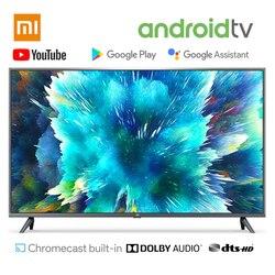 En Stock Xiaomi TV smart TV 4S 43 pulgadas 32 pulgadas televisión Control de voz 2GB de RAM 8GB ROM 5G WIFI Android 9,0 4K UHD Smart TV