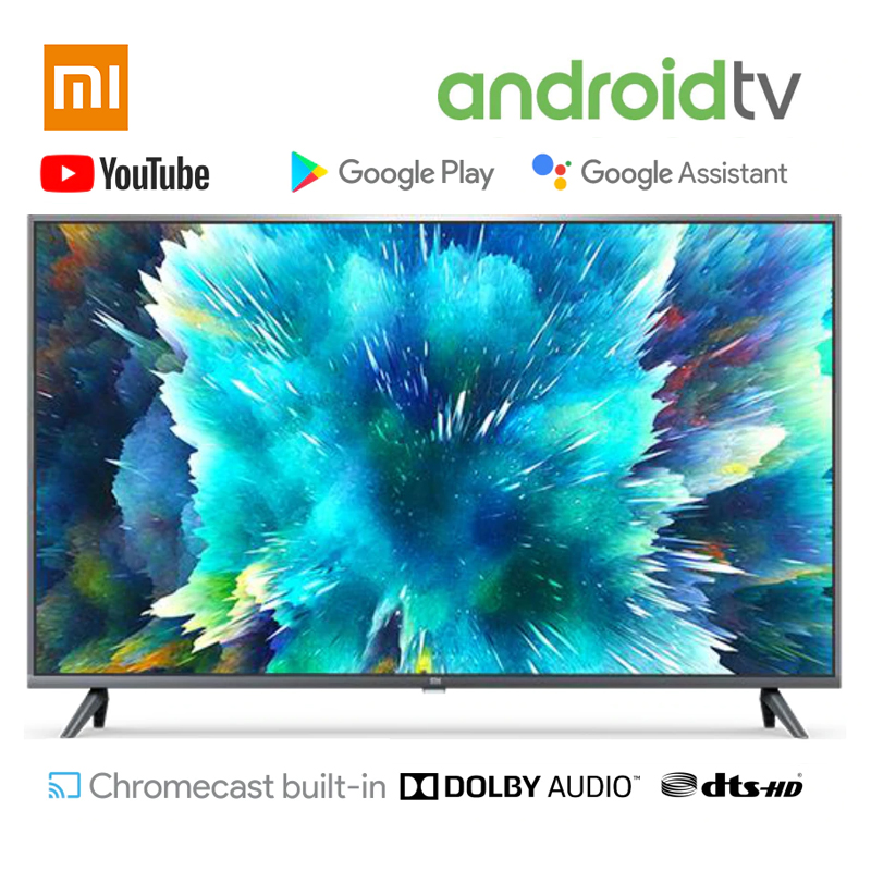In Stock Xiaomi <font><b>TV</b></font> <font><b>smart</b></font> <font><b>TV</b></font> 4S 43inch 32inch Television Voice Control 2GB RAM 8GB ROM 5G WIFI Android 9.0 4K UHD <font><b>Smart</b></font> <font><b>TV</b></font> image