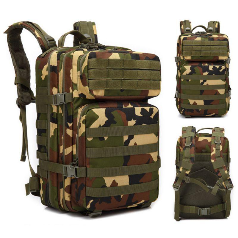 Двойной наплечный рюкзак большой емкости Водонепроницаемость молния открытый спортивная сумка шапки для ноутбука