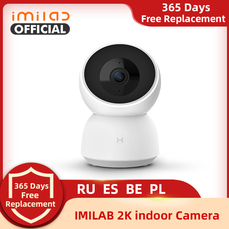 IMILAB 19E IP Camera 2K 1296P WiFi Camera MI Home Security Camera CCTV Vedio Surveillance Camera Baby Monitor Global Version