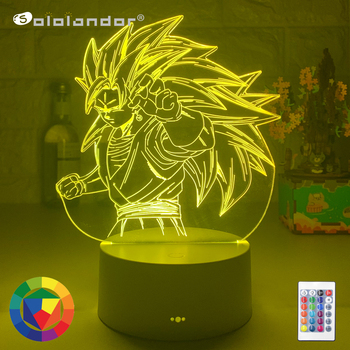 Newest 3d Lamp  Figure Nightlight for Child Bedroom Decor Cool Xmas Gifts Color Changing Led Night Lights Factory Dropshipping