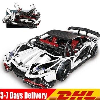 2020 IN Stock 23006 Genuine New Technic Series The Hatchback Type R Set Building Blocks Bricks Educational Toys Boy Gifts Model 1