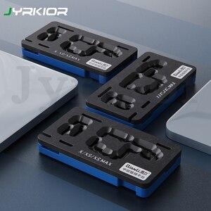 Image 1 - Qianli plateforme de pochoir de rebond BGA 3D, pour iPhone X, XS, 11 Pro MAX, carte mère, couche intermédiaire, plantation de modèles en étain, filet