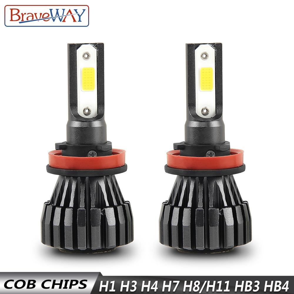 Image 4 - BraveWay H4 Led Light Headlight Lamps 6500K H7 H4 H1 H8 H11 H13 9005 9006 HB4 Car Light H7 Car Led Light Bulb H3 Fog Light-in Car Headlight Bulbs(LED) from Automobiles & Motorcycles