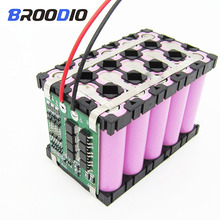 2PCS 3x5 4x5 Holder 18650 Cell Spacer Battery Radiating Shell Pack Plastic Heat Bracket Box Case 18650 DIY