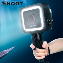 SHOOT 900LM 40M Waterproof LED Diving Light for GoPro Hero 7 6 5 Black Underwater Flash Lighting Lamp with Trigger + Red Filter