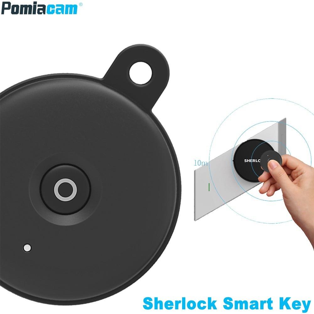 Keys For Sherlock S2 Smart Door Lock Home Keyless Lock To Electronic Door Lock Wireless App Bluetooth Control Smart Keys