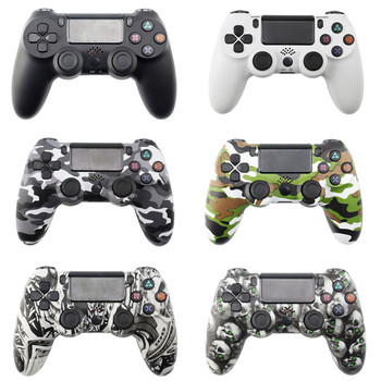 USB Wired/Wireless Bluetooth Gamepad for PS4 Controller Joypad for Playstation 4 Dualshock4 Games Joystick for PS3 PC controller usb wired gamepad for playstation 4 joystick gamepads double shock joypad for pc for ps4 controller 2 2m cable for ps3 console