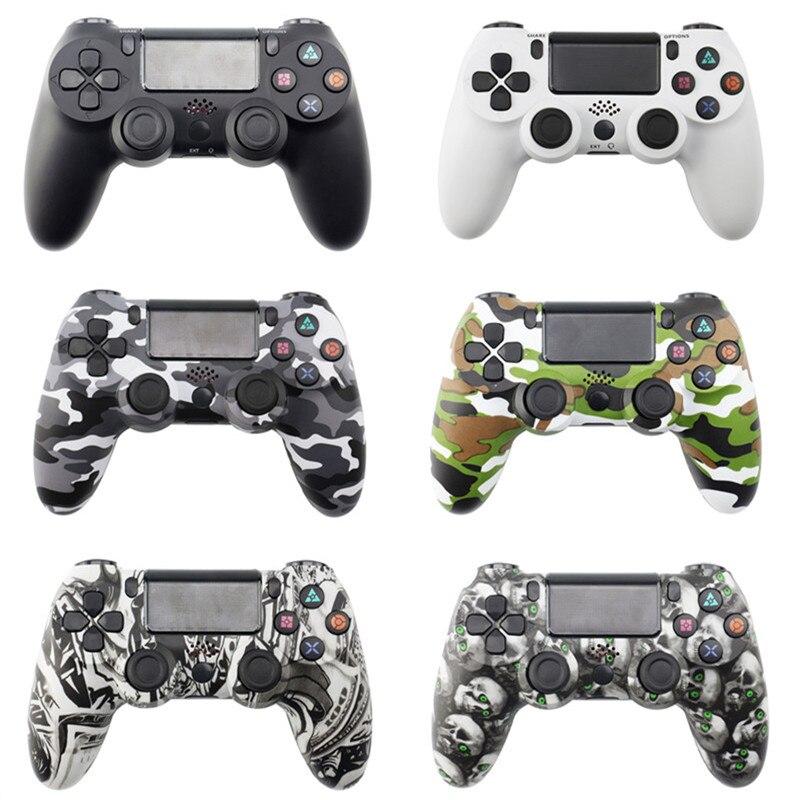 Usb com fio/sem fio bluetooth gamepad para o controlador ps4 joypad para playstation 4 dualshock4 jogos joystick para o controlador ps3 pc