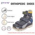 Princepard 2019 neue sommer zähler letzten orthopädische schuhe für jungen verlängern 6 8 ° krümmung  um außerhalb orthopädische sandalen für kinder|Turnschuhe|   -