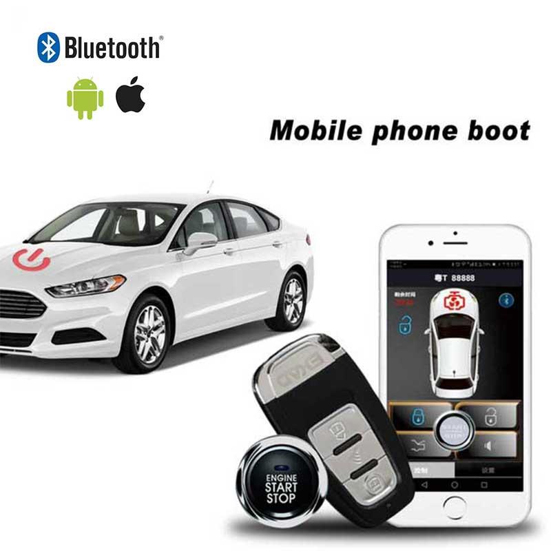 Keyless Entry System Car Alarm Car Theft Quad Lock Offline Offline Central Locking With Remote Start And Alarm Start Stop Button