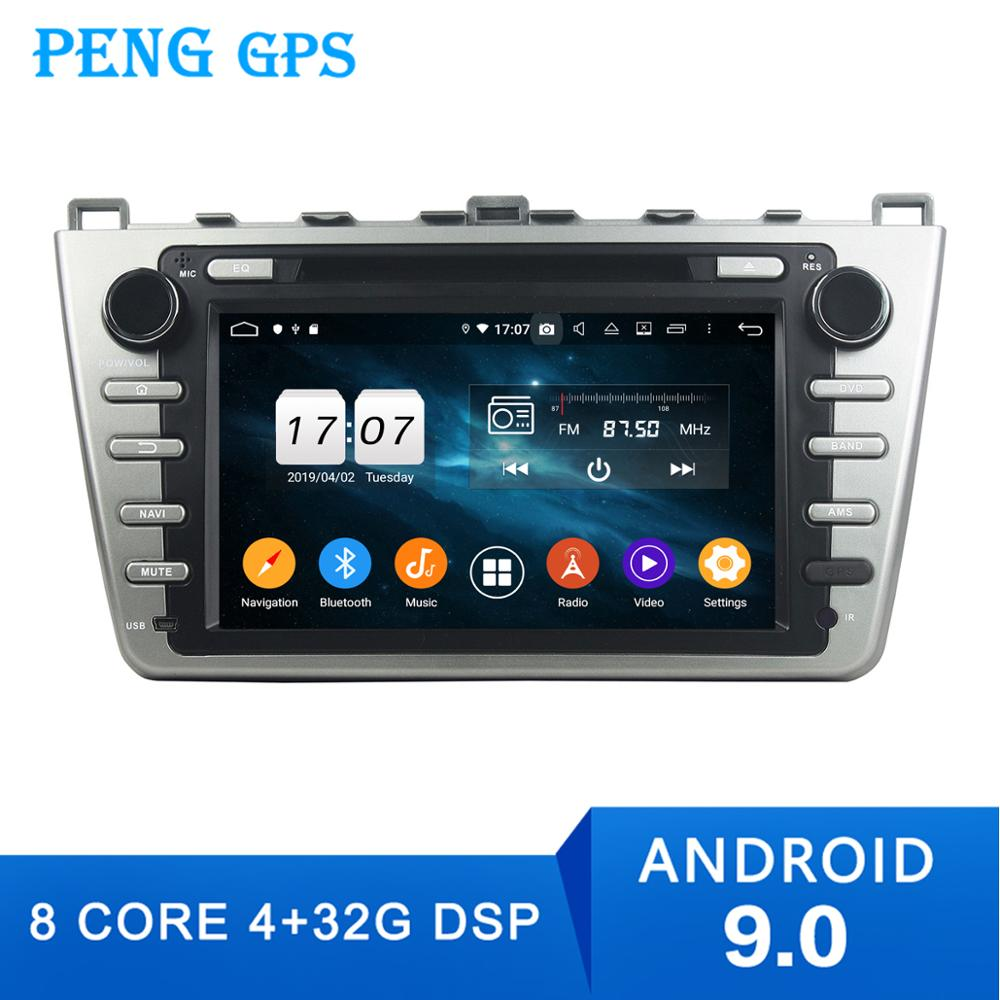 2Din android9.0 4+64G Car <font><b>gps</b></font> multimedia DVD player For <font><b>Mazda</b></font> 6 Atenza 2008 2009 -2012 <font><b>Navigation</b></font> with wifi bluetooth radio image